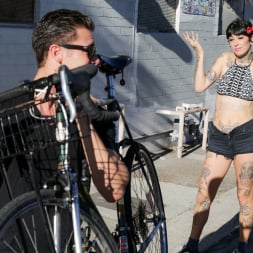 Aayla Secura in 'Burning Angel' Bicycle Babe (Thumbnail 3)