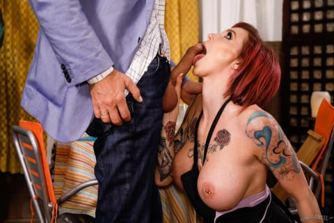 Burning Angel 'Dirty Grandpa Part 3' starring Anna Bell Peaks (Photo 48)