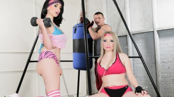 Arabelle Raphael in 'and Aiden Starr Pump You Up'