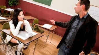 Aria Rae in 'Fucks The Substitute Teacher'