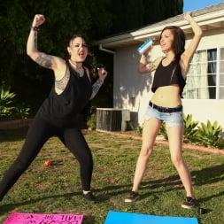 Callie Cyprus in 'Burning Angel' Dykes Takin' Dick - Callie Cyprus (Thumbnail 3)