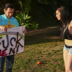 Callie Cyprus in 'Burning Angel' Dykes Takin' Dick - Callie Cyprus (Thumbnail 5)
