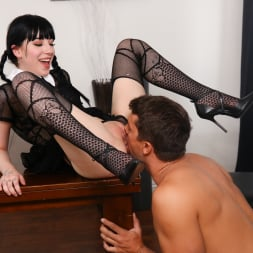 Charlotte Sartre in 'Burning Angel' A Very Adult Wednesday Addams - Dinner With New-Daddy (Thumbnail 5)