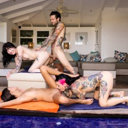 Charlotte Sartre in 'Burning Angel' Fucking Young Whores On Vacation - Orgy (Thumbnail 40)