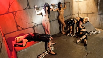 Skin Diamond in 'Slave Den Orgy'