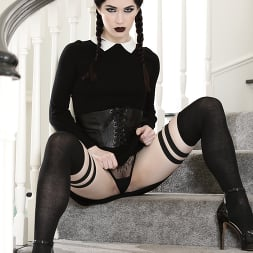 Evelyn Claire in 'Burning Angel' Very Adult Wednesday Addams -  Evelyn Claire (Thumbnail 1)