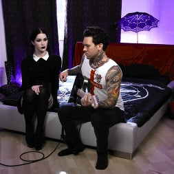 Evelyn Claire in 'Burning Angel' Very Adult Wednesday Addams -  Evelyn Claire (Thumbnail 14)