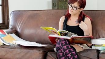 Hermionie Danger in 'Doing Homework'