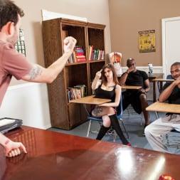 Indigo Augustine in 'Burning Angel' Dick Teacher (Thumbnail 4)