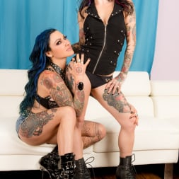 Joanna Angel in 'Burning Angel' Jenevieve Hexxx First Time (Thumbnail 4)