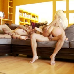 Jessie Lee in 'Burning Angel' Couch Foursome (Thumbnail 26)