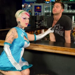 Jessie Lee in 'Burning Angel' Killer Kleavage From Outer Space - Episode 1 (Thumbnail 2)