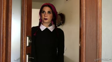 Joanna Angel - A Very Adult Wednesday Addams - Daily Ritual