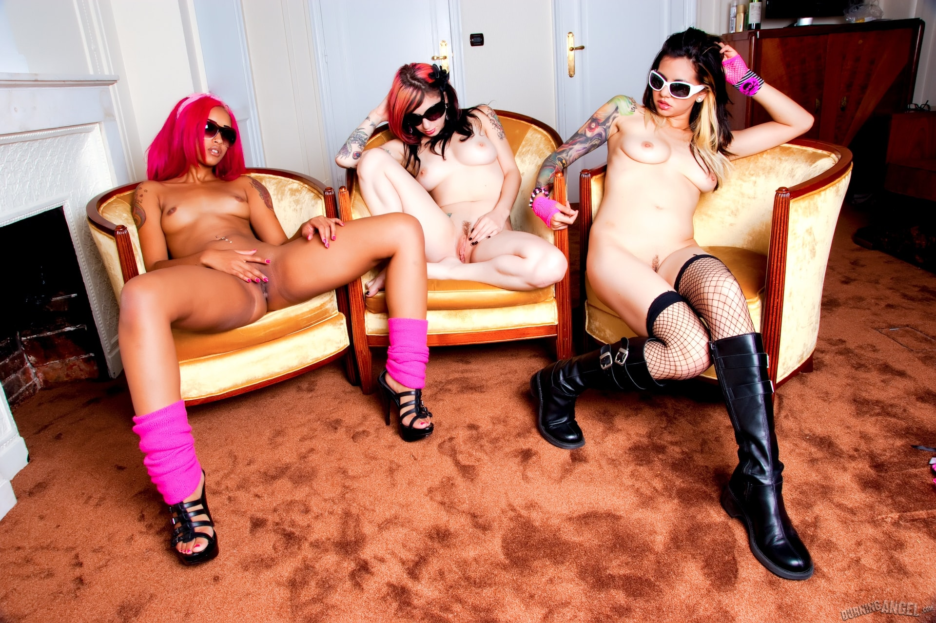 Burning Angel 'Black and Pink Sex Fest' starring Joanna Angel (Photo 15)