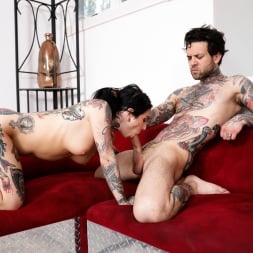 Joanna Angel in 'Burning Angel' Fuck This Couch - Joanna and Aaron (Thumbnail 1)