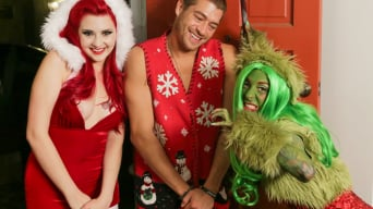 Joanna Angel in 'How The Grinch Gaped Christmas - Chapter 1'