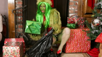 Joanna Angel in 'How The Grinch Gaped Christmas - Chapter 2'
