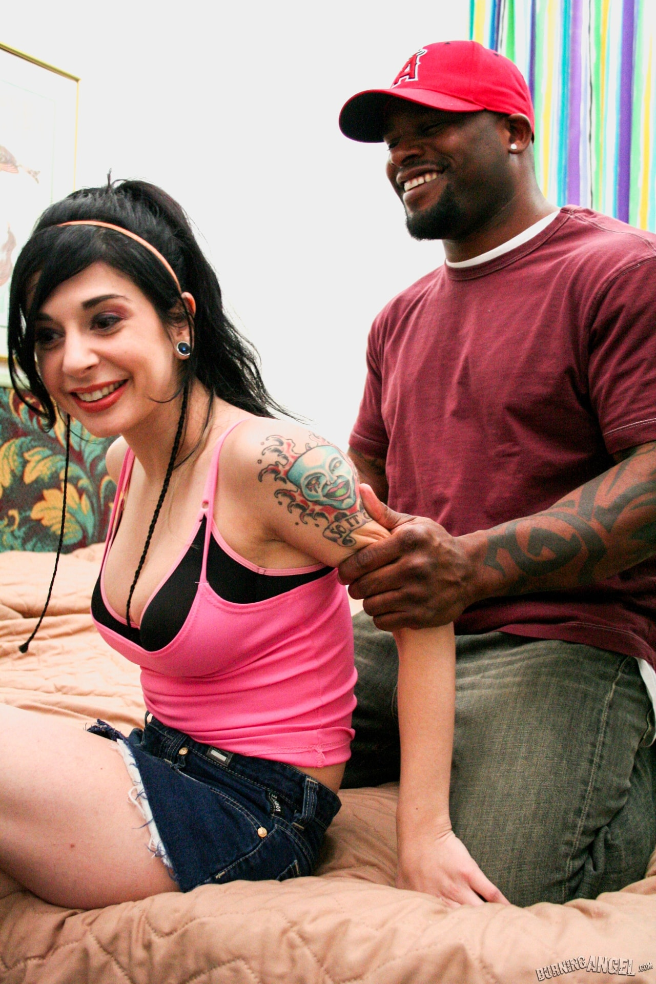 Burning Angel 'It's Big It's Black' starring Joanna Angel (Photo 4)