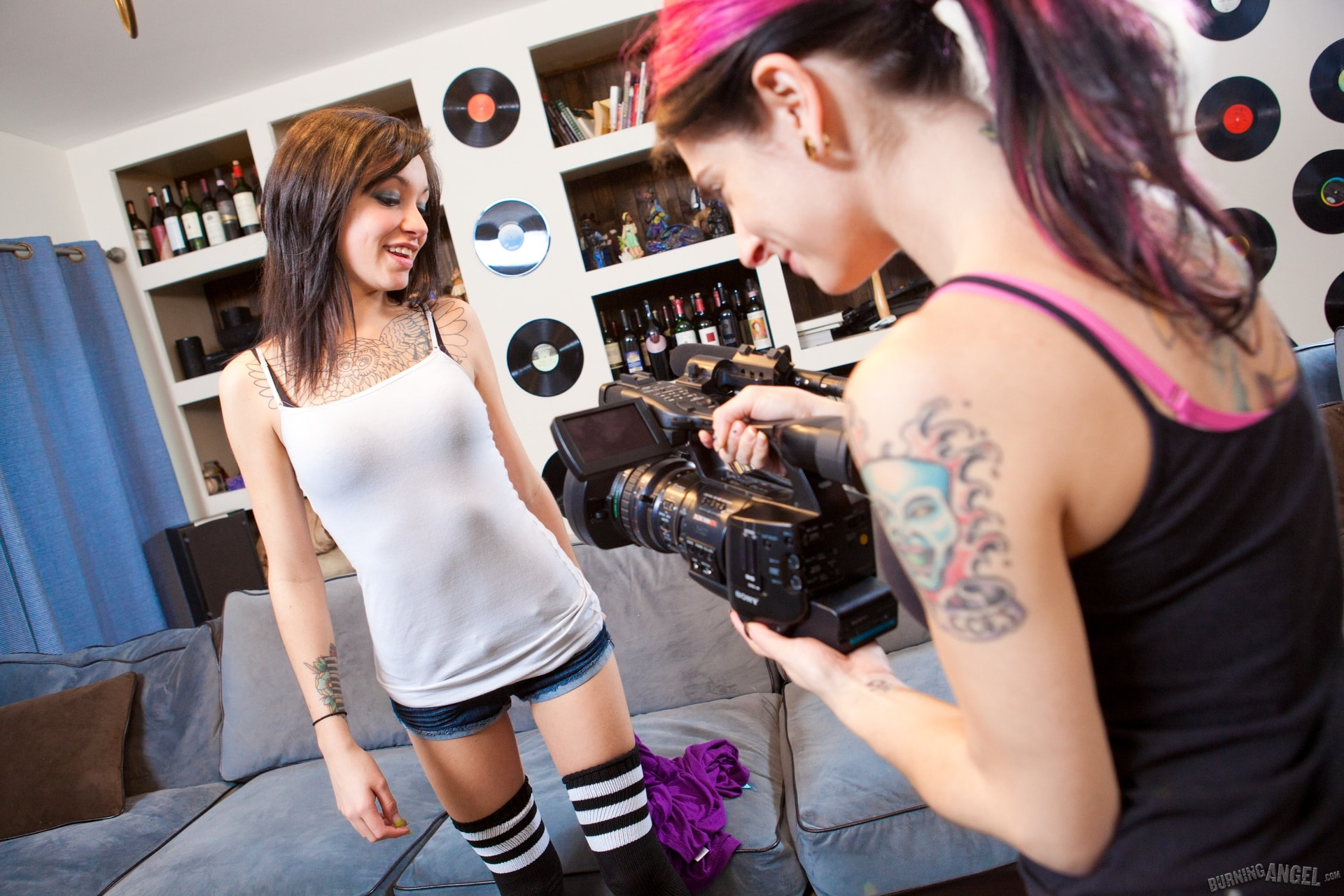 Burning Angel 'Juliette's First Time' starring Joanna Angel (Photo 1)