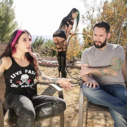 Joanna Angel in 'Burning Angel' Katrina Jade - Cum On My Tattoo (Thumbnail 2)