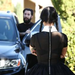 Katrina Jade in 'Burning Angel' Very Adult Wednesday Addams (Thumbnail 1)