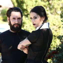 Katrina Jade in 'Burning Angel' Very Adult Wednesday Addams (Thumbnail 10)