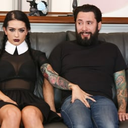 Katrina Jade in 'Burning Angel' Very Adult Wednesday Addams (Thumbnail 25)