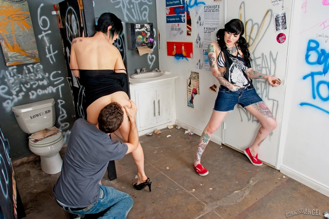 Burning Angel 'Bar Bathroom Romp' starring Kleio Valentien (Photo 5)