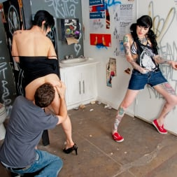 Kleio Valentien in 'Burning Angel' Bar Bathroom Romp (Thumbnail 5)