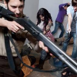 Larkin Love in 'Burning Angel' Walking Dead Orgy! (Thumbnail 25)