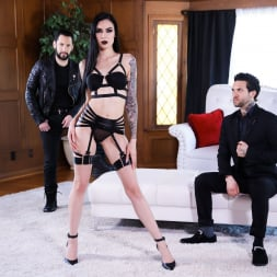 Marley Brinx in 'Burning Angel' Goth Anal Whores Gets DP'd (Thumbnail 6)