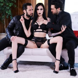 Marley Brinx in 'Burning Angel' Goth Anal Whores Gets DP'd (Thumbnail 12)