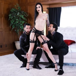 Marley Brinx in 'Burning Angel' Goth Anal Whores Gets DP'd (Thumbnail 18)