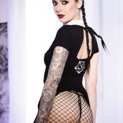 Marley Brinx in 'Burning Angel' Very Adult Wednesday Addams (Thumbnail 2)