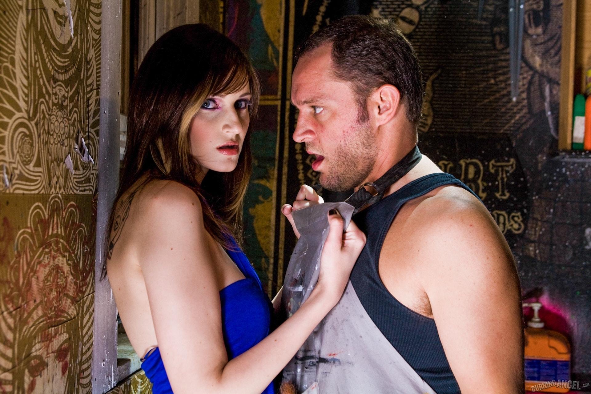 Burning Angel 'Artist Bathroom Sex' starring Phoenix Askani (Photo 1)