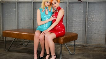 Phoenix Askani in 'and Chelsea Grinds - A Latex Dream'