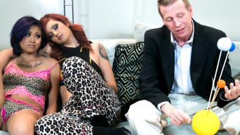 Phoenix Askani in 'Science Slumber Party'