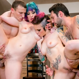 Rizzo Ford in 'Burning Angel' Kitchen Party Orgy! (Thumbnail 27)