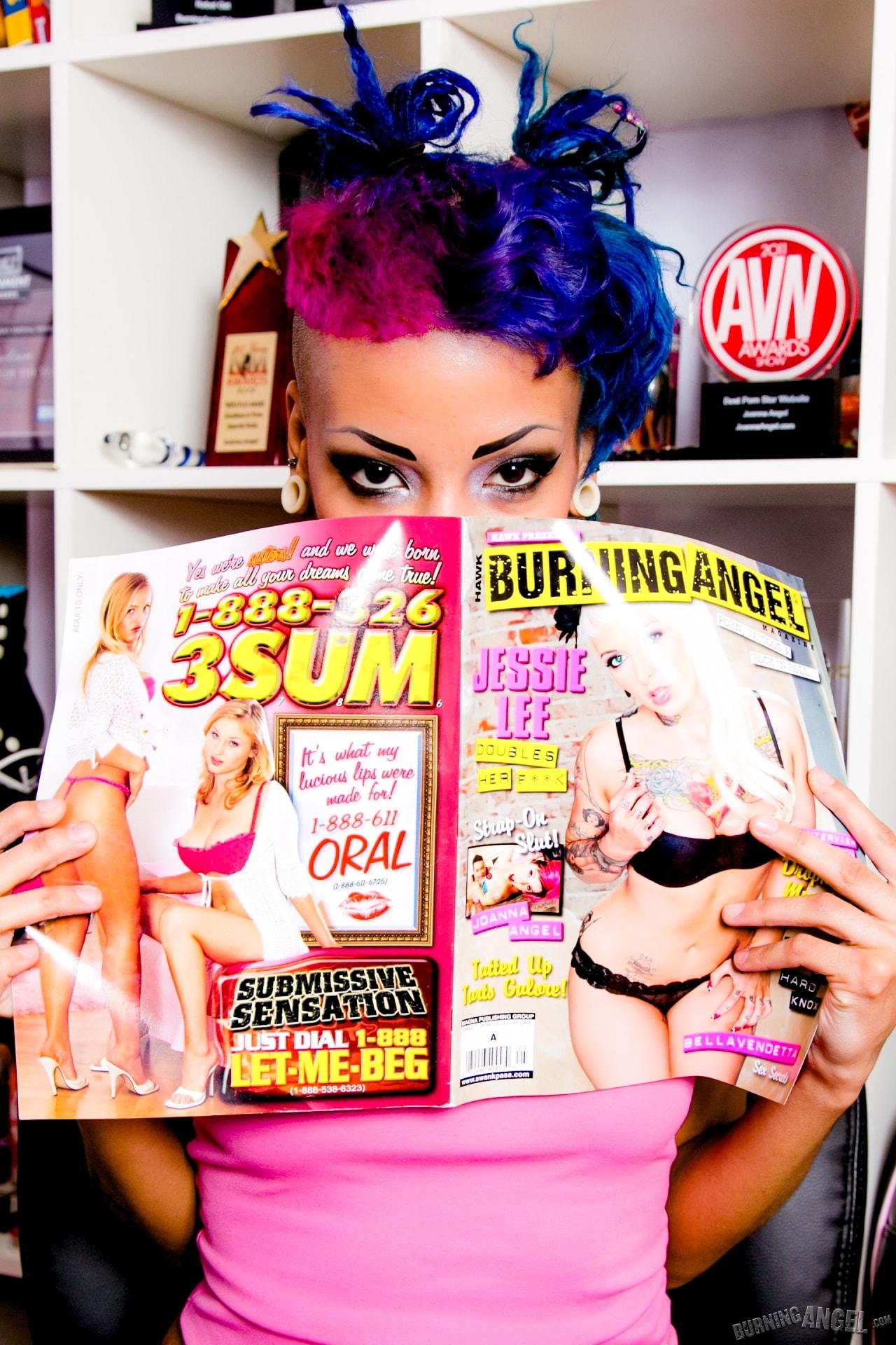 Burning Angel 'Masturbates' starring Roggie (Photo 7)