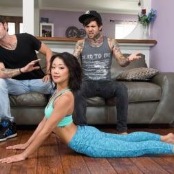 Saya Song in 'Burning Angel' Does Yoga (Thumbnail 1)