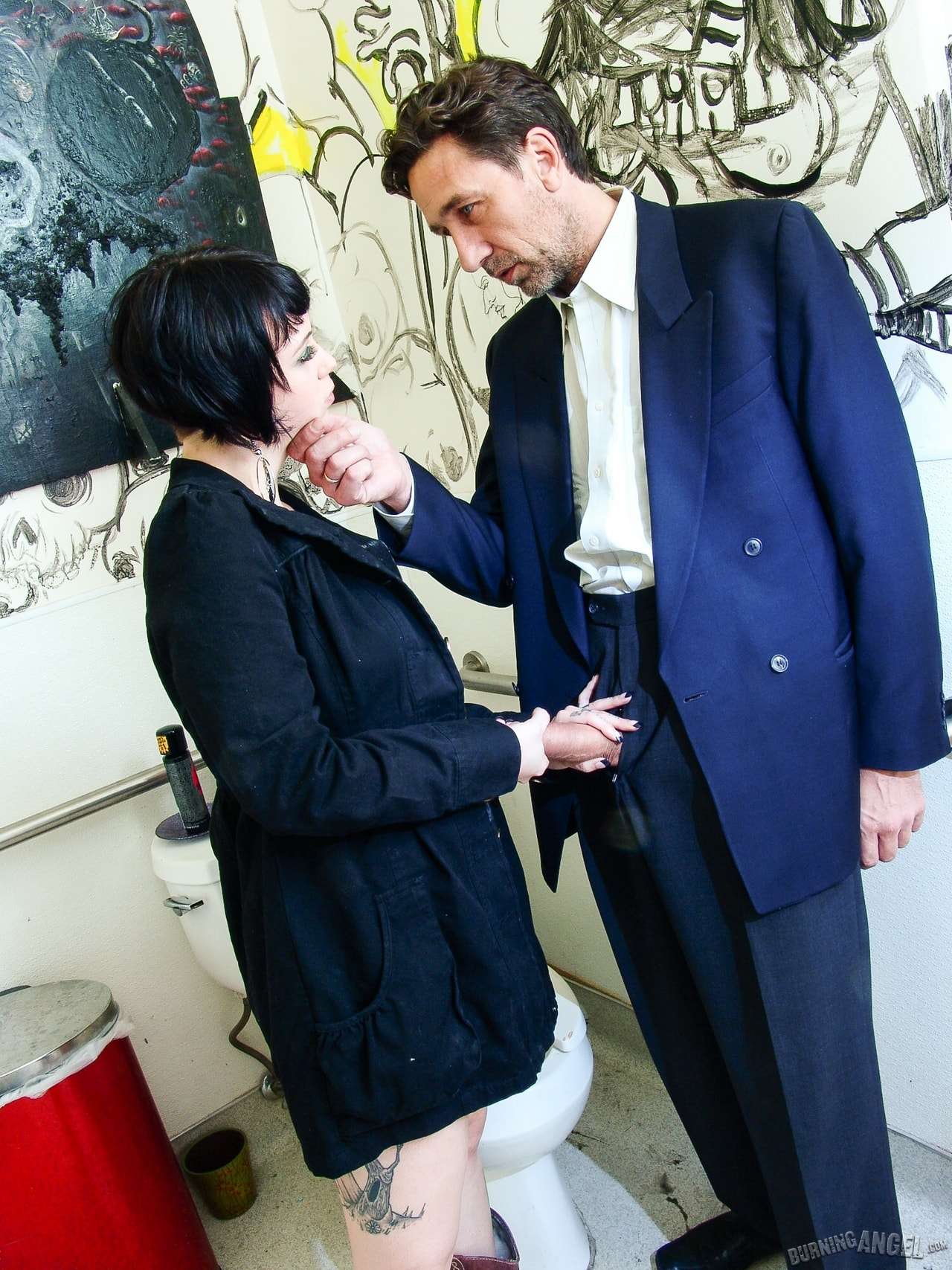 Burning Angel 'Tattoo Shop Pit Stop' starring Sparky Sin Claire (Photo 1)