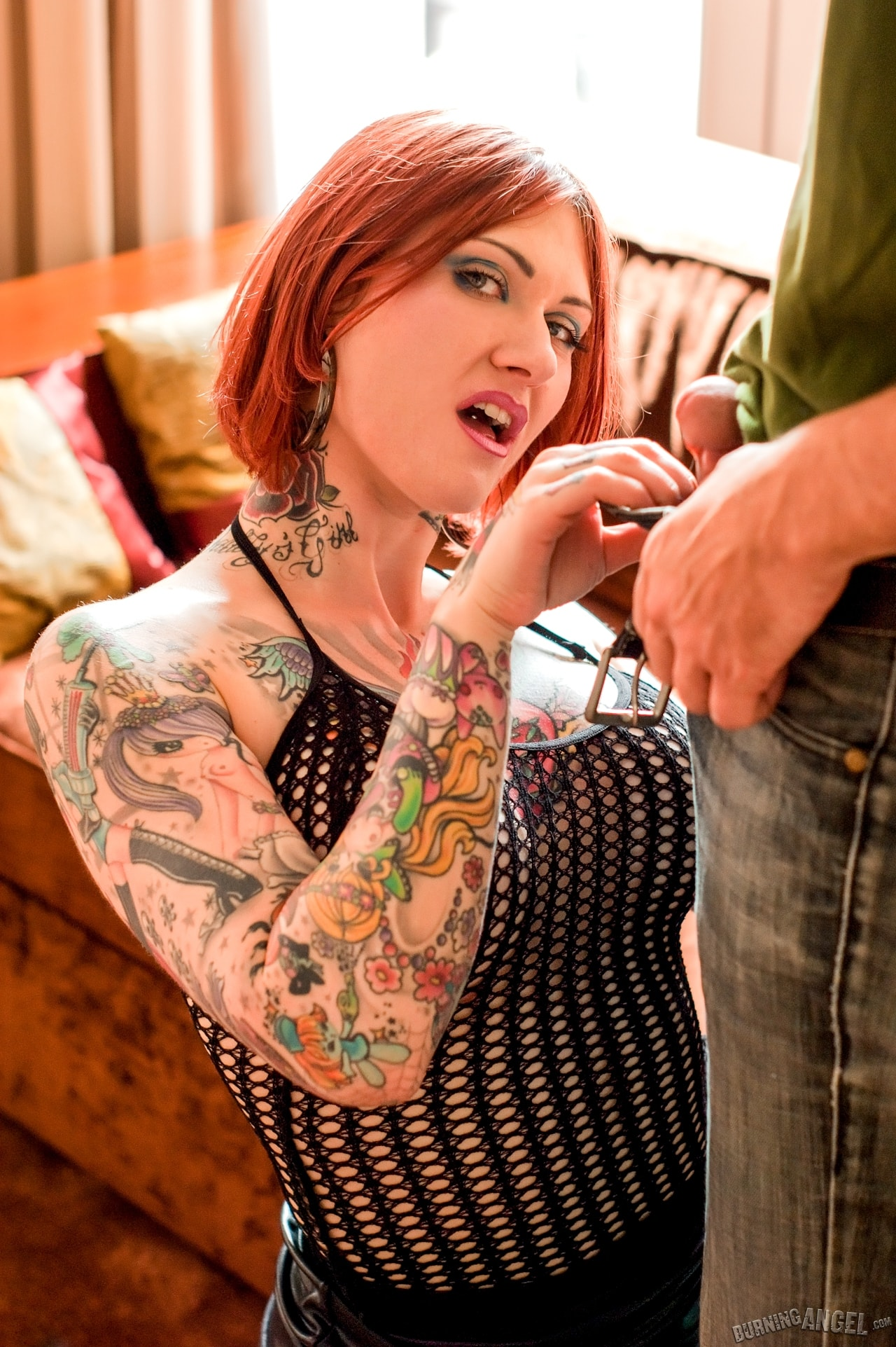 Burning Angel 'Spunk On My Tattoo' starring Tallulah (Photo 3)