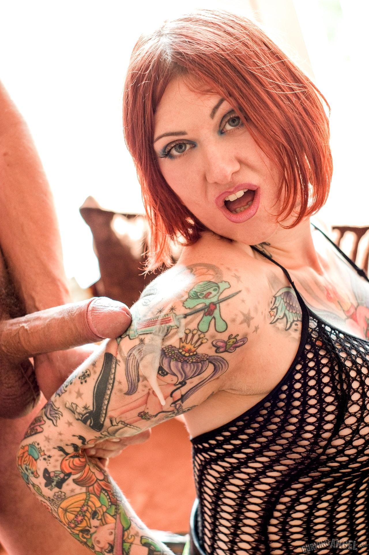 Burning Angel 'Spunk On My Tattoo' starring Tallulah (Photo 15)