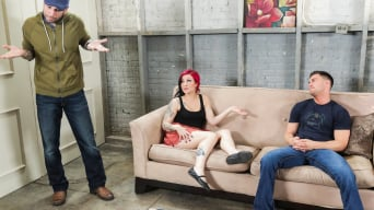 Tori Lux in 'Babysitters Flub'