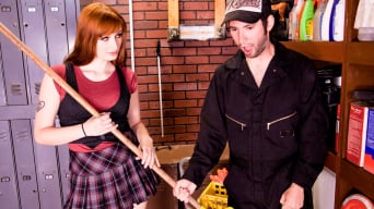 Violet Monroe in 'What Happens In The Janitor's Closet Should Stay In The Janitor's Closet'